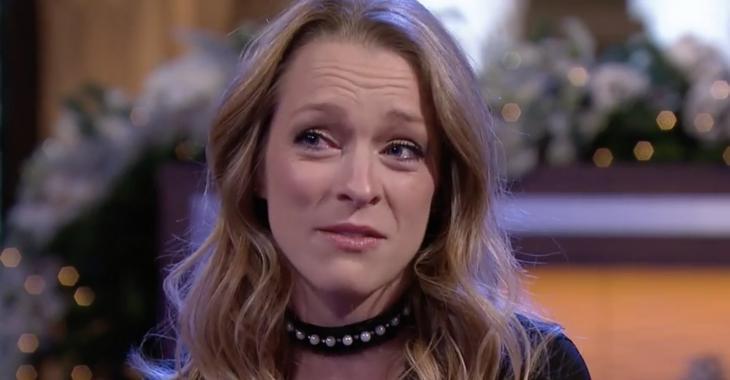 Annie Villeneuve fond en larmes à «Deux filles le matin»