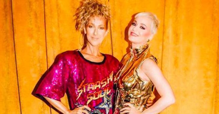 Katy Perry dévoile une incroyable vidéo hommage à sa rencontre avec Céline Dion!