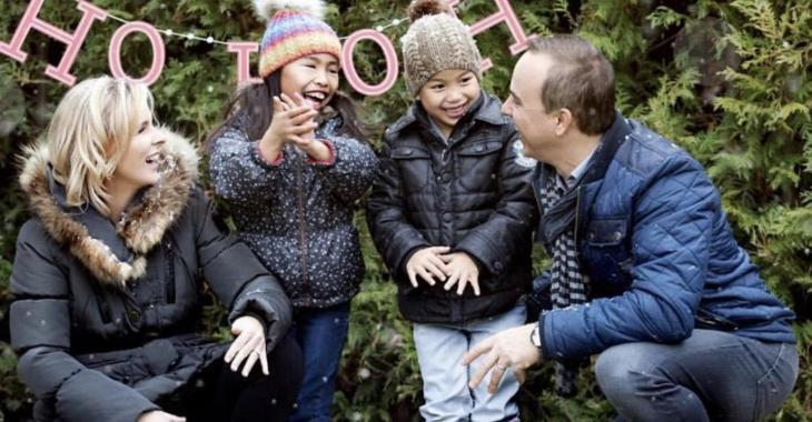 Gino Chouinard et sa famille ont un message pour vous en ce temps des fêtes