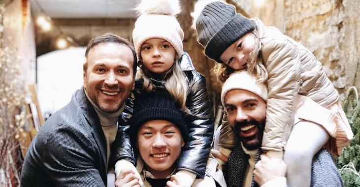 Joël Legendre et sa famille vous souhaitent de joyeuses fêtes et partagent de magnifiques photos