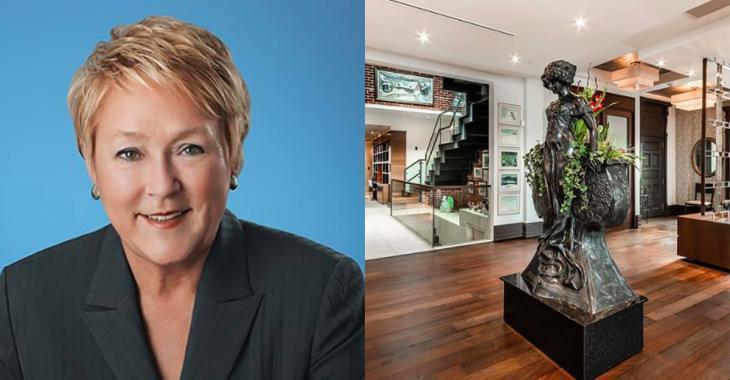 Le luxueux penthouse de Pauline Marois a été vendu pour 4,6 M$ et les photos sont hallucinantes