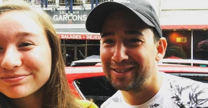 La fille de Jean-François Baril réussit tout un exploit  et son père lui envoie un message plein d'émotion