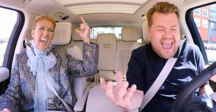 À VOIR: Céline Dion participe finalement au fameux Carpool Karaoke et voici la vidéo complète