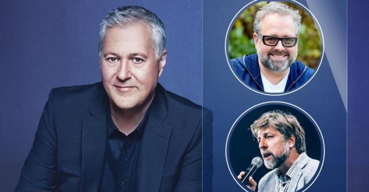 Alexandre Taillefer et Luc Ferrandez seront les nouveaux collaborateurs de Paul Arcand au 98,5 FM
