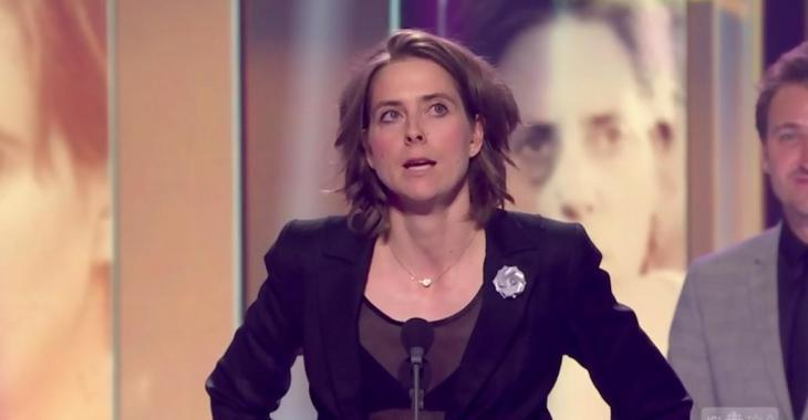GÉMEAUX: Ève Landry prononce le discours le plus émouvant de la soirée