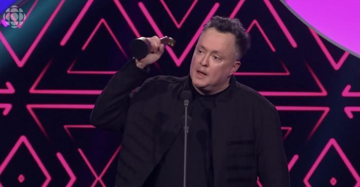 Mike Ward a été sévèrement critiqué pour son discours au Gala Les Olivier
