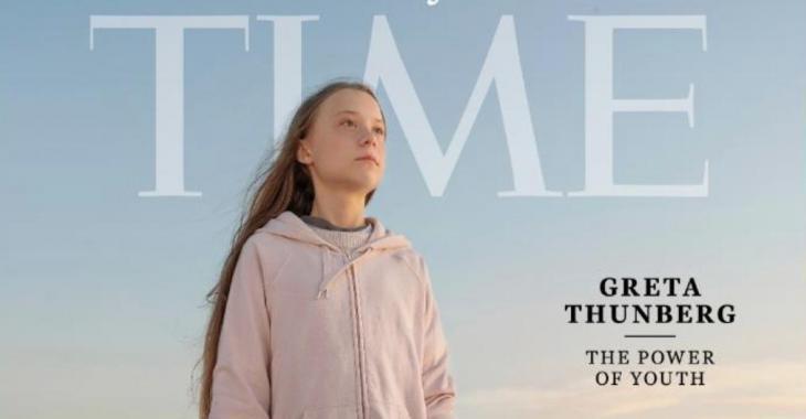 Greta Thunberg a été nommée Personnalité de l'année par le prestigieux magazine Time