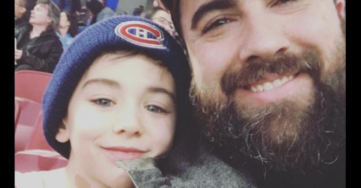 Jonathan Roberge donne des nouvelles de son fils Xavier et confirme qu'il a un cancer du cerveau