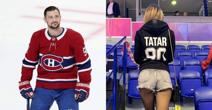 PHOTOS |La blonde de Tomas Tatar du Canadien de Montréal est à couper le souffle