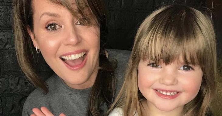 La fille de Patricia Paquin a cinq ans aujourd'hui et sa mère publie le plus beau des messages