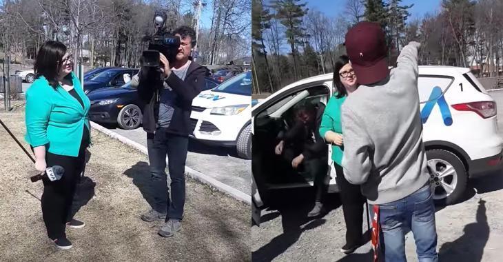 Une confrontation entre une journaliste de TVA et des jeunes dans un parc devient virale