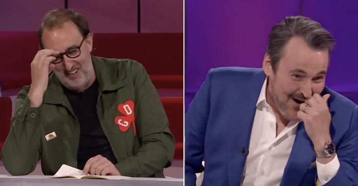 Martin Petit fait une blague sur Éric Salvail à Tout le monde en parle et provoque un fou rire généralisé