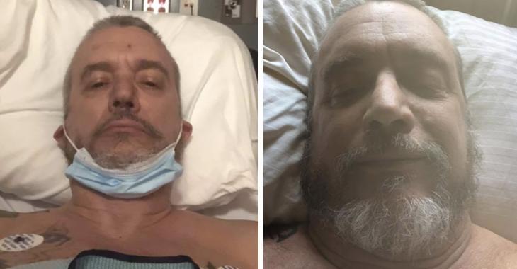 Dan Bigras donne finalement des nouvelles de son état de santé après son grave accident de VTT