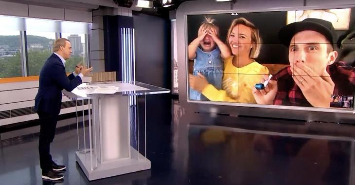 À VOIR: Gino Chouinard fait pleurer la fille de Julie Ringuette et Pascal Morrissette en direct à Salut Bonjour