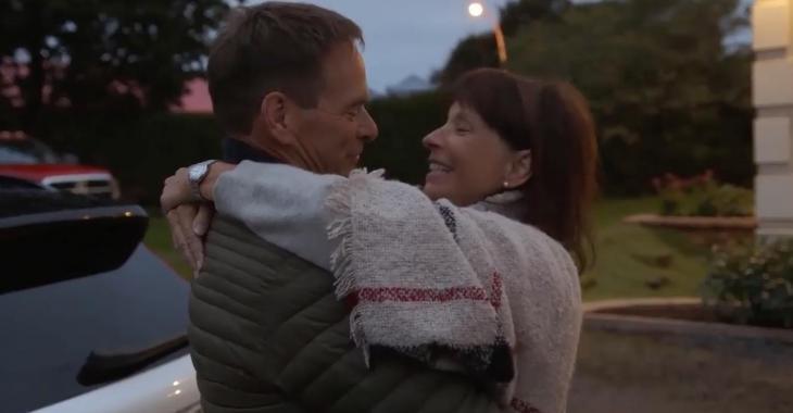 On a finalement des nouvelles de Nicolas et Louise, quelques mois après la fin de L'amour est dans le pré