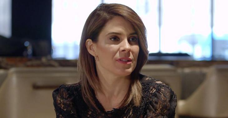 Julie Perreault fait de rares commentaires sur sa séparation avec Sébastien Delorme, à Sucré Salé