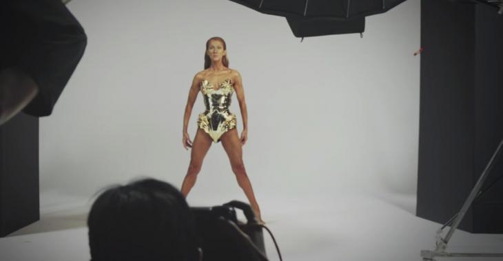 À VOIR: Les dessous du photoshoot de Céline Dion dont tout le monde parle