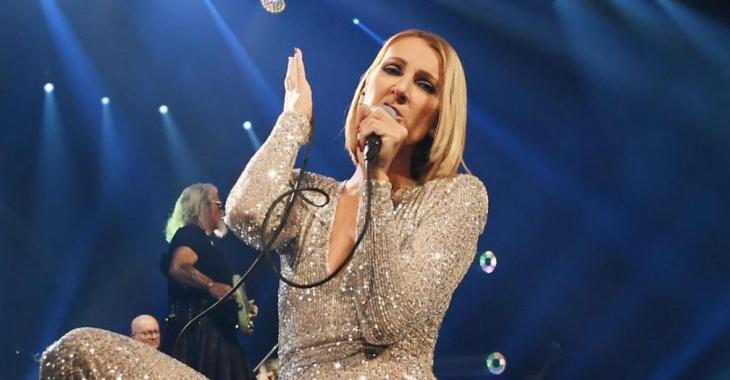 Céline Dion resplendissante en plein air au Québec