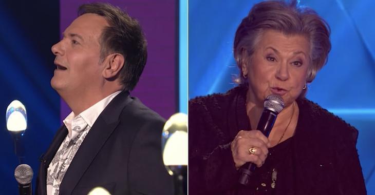 Mario Pelchat et Ginette Reno chantent en duo à 1res fois et offrent un moment de télévision extraordinaire