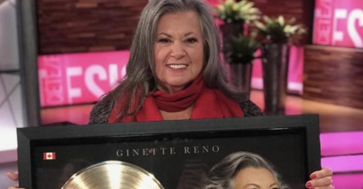 Ginette Reno publie un texte sur la vieillesse qui génère énormément de réactions sur Facebook